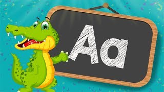 Learn Letter A & Alphabet ABC with PUZZLES -  Learn The Alphabet Letters Education For Kids