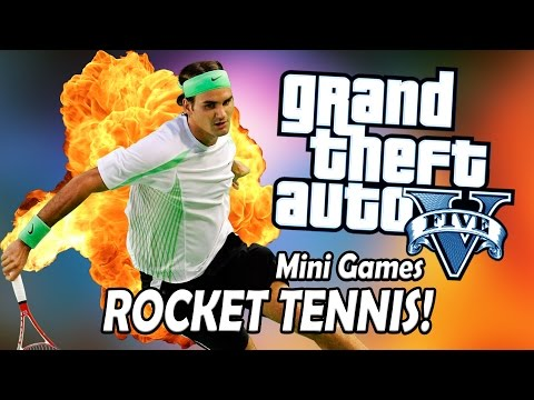 ROCKET TENNIS! - GTA 5 Online Mini Games!