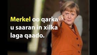 Raysal Wasaaraha Jarmalka Merkel oo qarka u saaran inay dhacdo