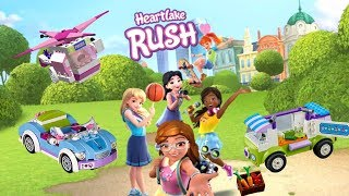 LEGO Friends Heartlake Rush Unlock All Characters and Vehicles Andrea, Mia, Olivia, Emma, Stephanie