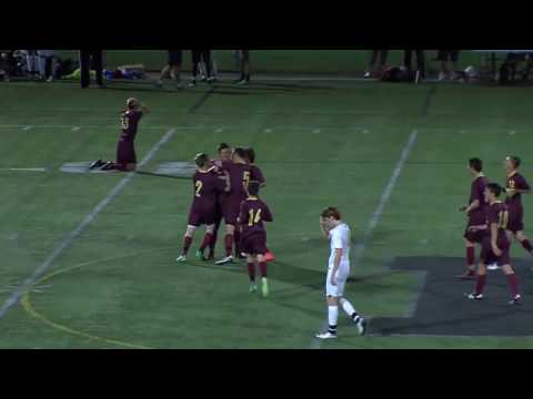 Weymouth HS Soccer Adam Pforr's 50 yard goal