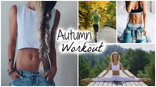 My Fall Workout Routine // How to Stay Fit During School