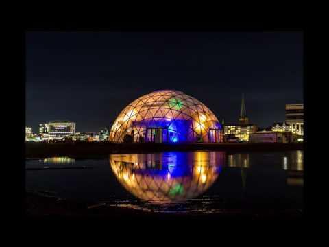 Dome Of Visions. Aarhus 2017 European Capital Of Culture. Aarhus Ø, Denmark.
