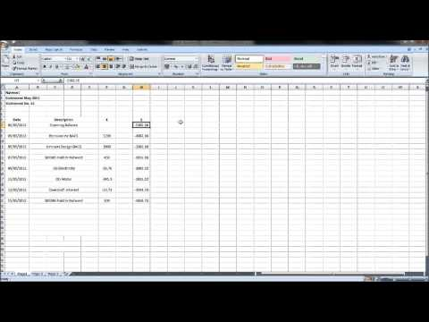 Sage Bank Reconciliation Tutorial - #1