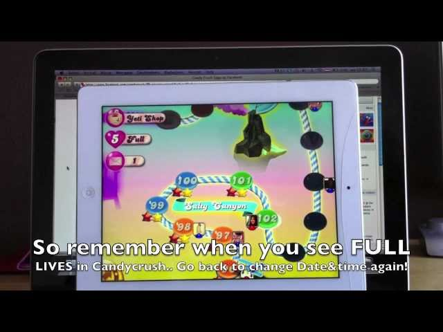 Candy Crush Saga Free Lives Cheat Updated How To Get Free/ Unlimited