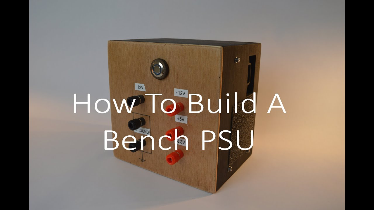 How to Build a Bench Power Supply From A PC Power Supply - YouTube