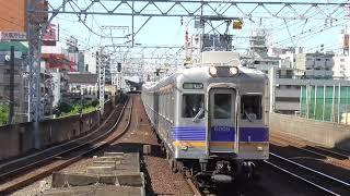 2018.5.24 南海電鉄 6000系  6009F + 6013F + 6903F 区急なんば 今宮戎通過 南海電車 南海車両一覧