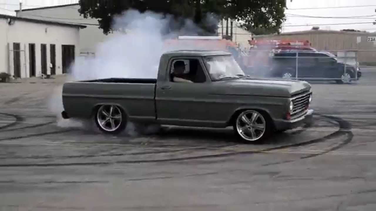 ford f100 gas monkey garage bournout