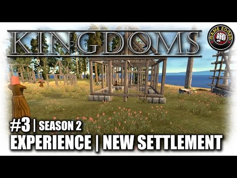 Kingdoms | EP3 | New Settlement Found | Let's Play Kingdoms Gameplay (Alpha 17.2) (S2)