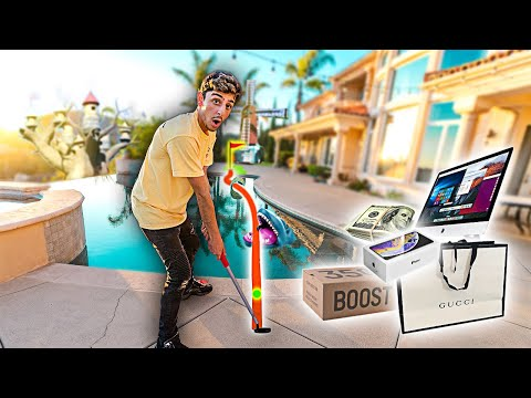 Make a Hole in One, I'll Buy You Anything - Mini Golf Challenge