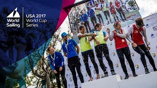 Sailing World Cup Miami - Sunday's Medal Races Live