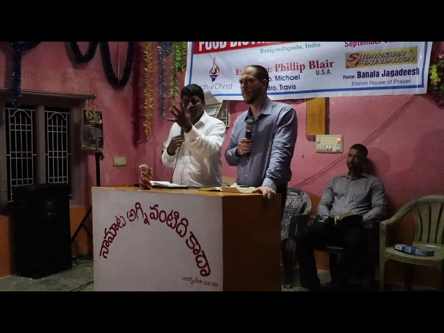 The difficult road to faith and obedience: India Revival Service