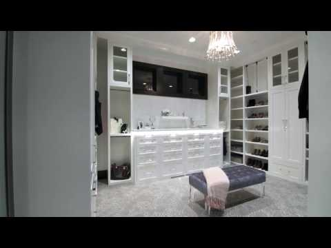 A spacious Master Closet by Cameo Homes Inc. in Utah.