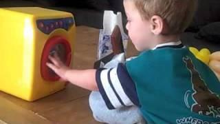 Evan's New Washing Machine