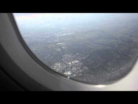 イギリス・ルートンからオランダ・アムステルダムまでの搭乗動画