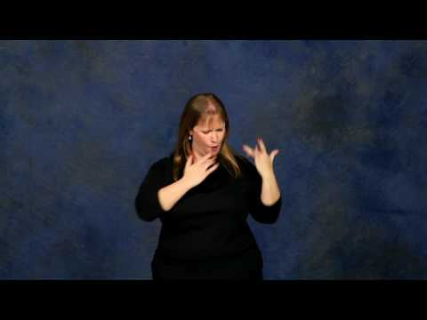 How to say jesus loves me in sign language