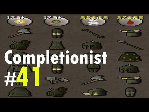 Barrows Hunt and Clues Completionist #41
