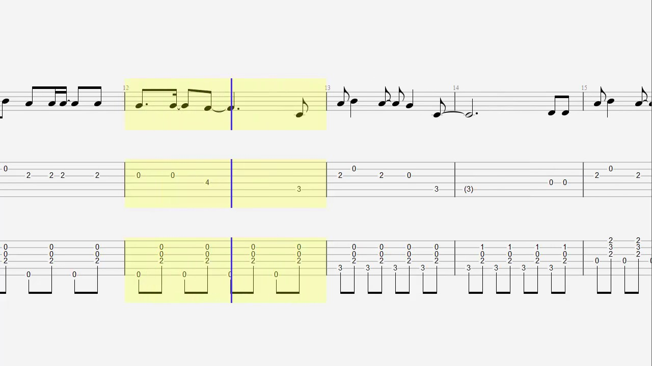 Guitar Tab Chords Niall Horan This Town Acoustic Cover Youtube