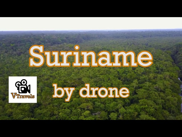 Suriname from above