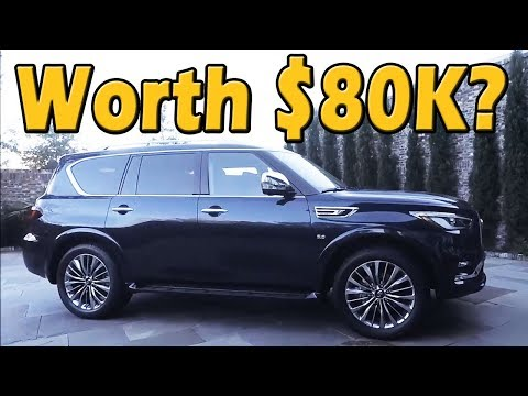 2018 Infiniti QX80 Review | Test Drive Tuesday on Truck Central