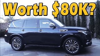 The 2018 Qx80 Is The Most Expensive Infiniti Suv You Can Buy! | Truck Central