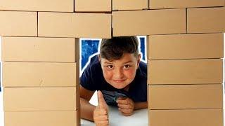 EDO: Costruire con i Mattoncini di Cartone: Per Piccoli Architetti Video In Italiano 😃
