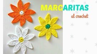 Margaritas a crochet