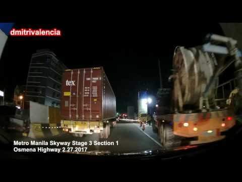 Metro Manila Skyway Stage 3 - Section 1 update (2.27.2017)
