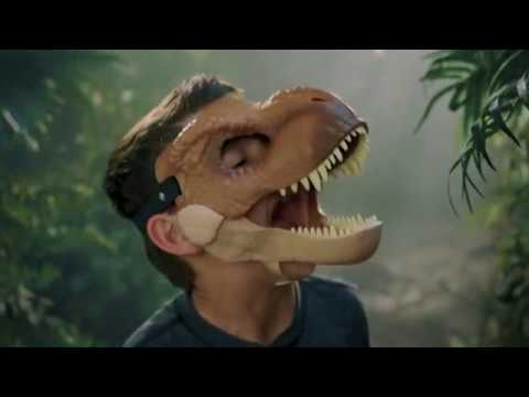 Jurassic World Chomp 'N Roar Mask Velociraptor | Toys R Us Canada