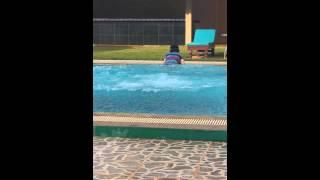 시티앙코르호텔수영장다이빙