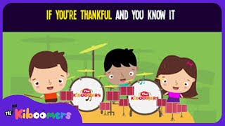 If You're Thankful and You Know It Song for Kids | Thanksgiving Songs for Children | The Kiboomers