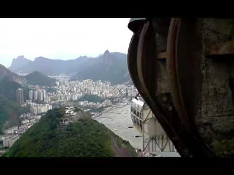 Cable Cars, Sugar Loaf Mountain, Rio De Janiro, Brazil
