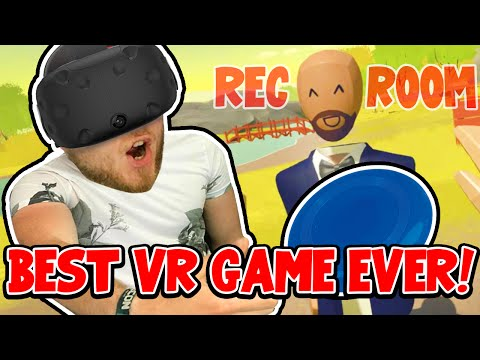 SquiddyPlays - BEST VR GAME EVER! - Rec Room!