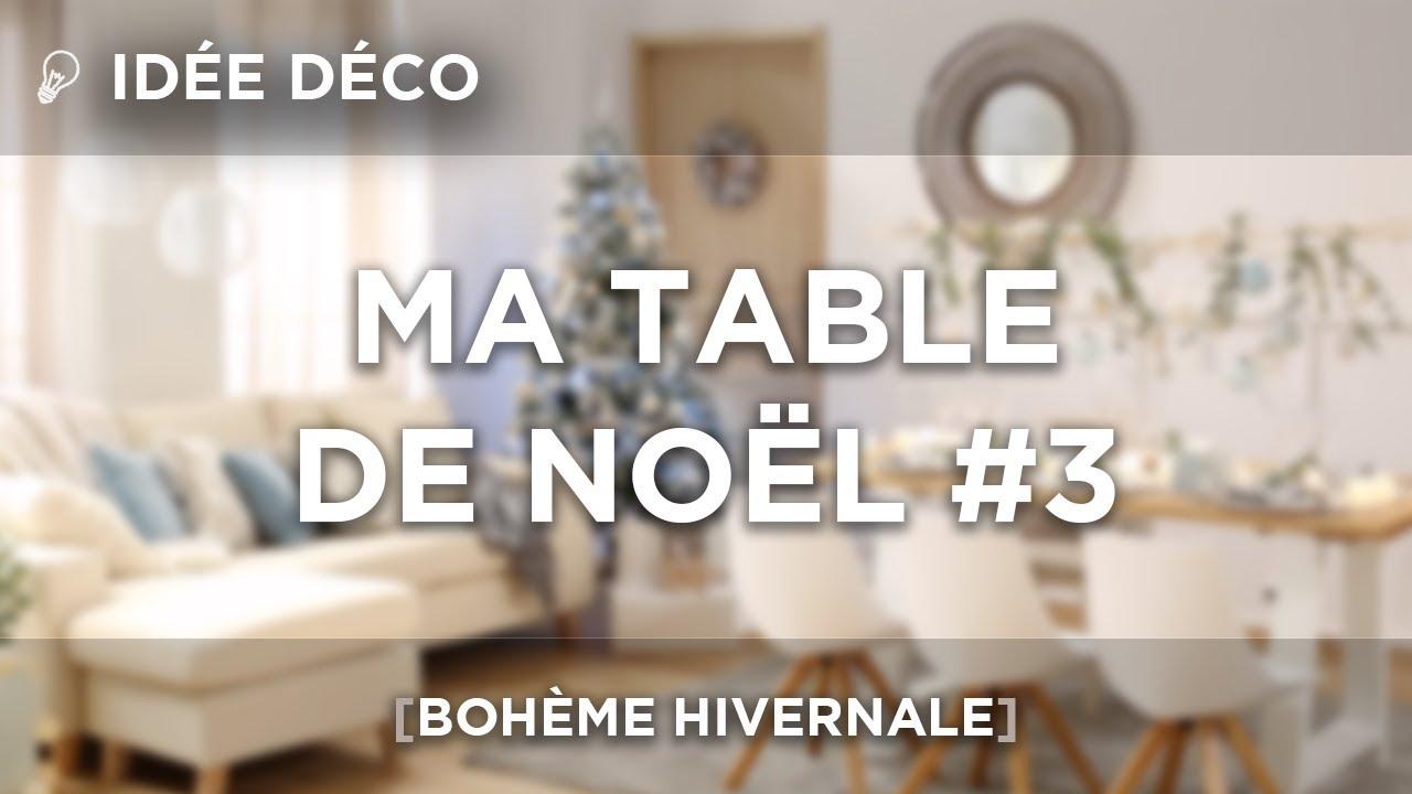 Idee Deco Suspension Salon idÉe dÉco | ma table de noËl #3 | bohÈme hivernale