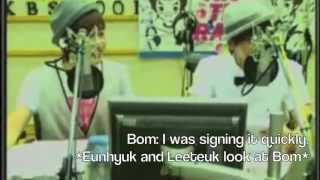 When Super Junior Fanboys Over Park Bom