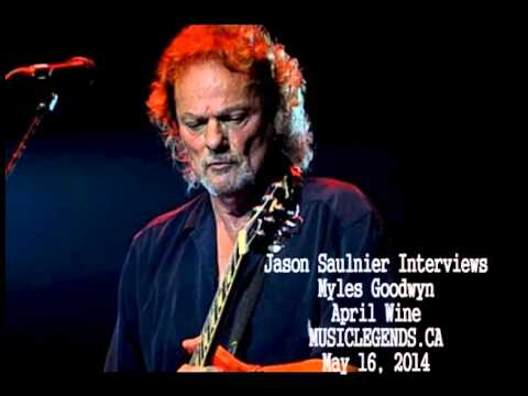 Myles Goodwyn Interview - April Wine - 2014-05-16