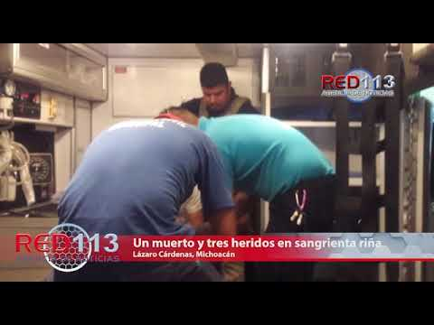 VIDEO Riña callejera en Las Guacamayas acaba en sangre y muerte