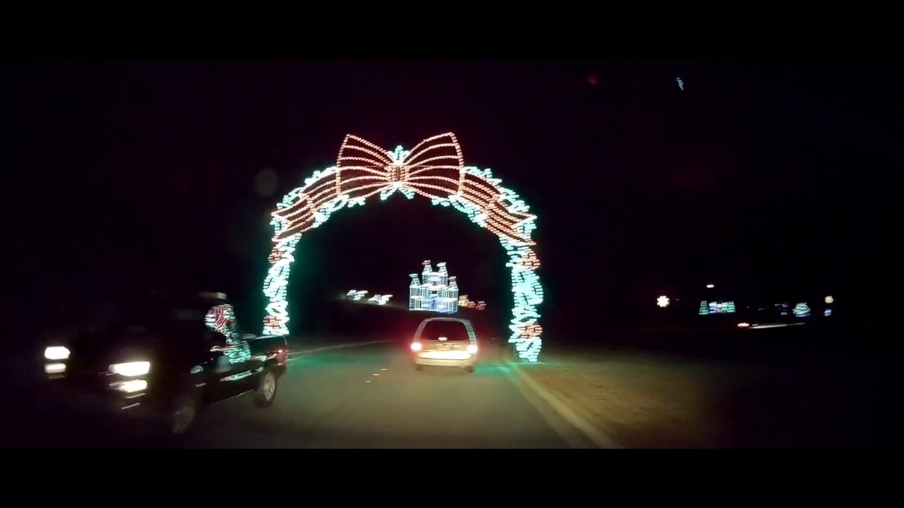 Lanier Islands Magical Nights Of Lights 2017 Youtube