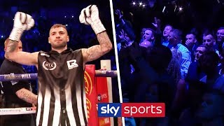Lewis Ritson's spine-tingling ring walk in Newcastle ⚫⚪| Blaydon Races