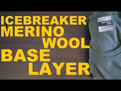 Icebreaker Merino Wool Base Layer Top