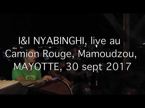 I&I NYABINGHI, live au camion rouge, Mamoudzou, MAYOTTE, 30 sept 2017