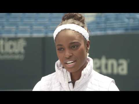 Sloane Stephens Q&A for CT Open