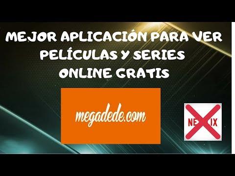 MEJOR aplicacion para ver SERIES y PELICULAS online ALTERNATIVA NETFLIX