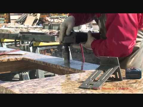 FGY Stone & Cabinet - Granite Installation - YouTube