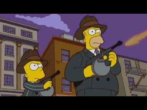 Барт стал гангстером Симпсоны 4 серия 3 сезон