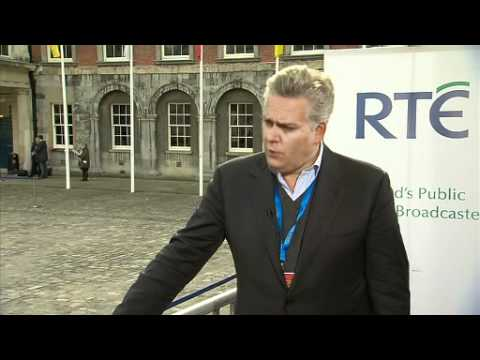 Interview with Gavin O'Reilly at the Global Irish Economic Forum 2011