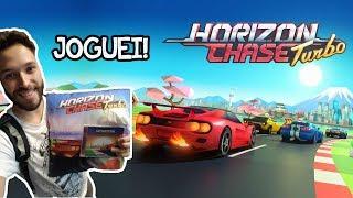 EXCLUSIVO! Joguei Horizon Chase Turbo no PS4!