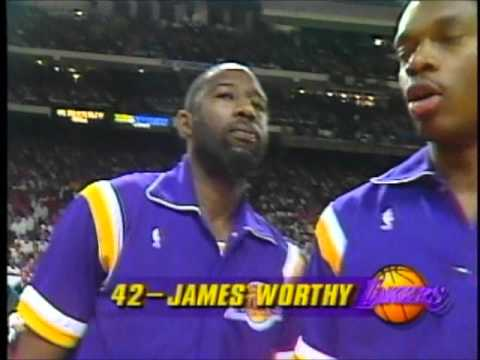 1991 NBA Finals GM1: Player Introductions