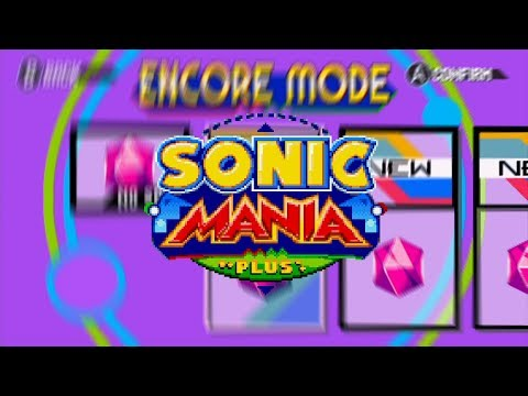 Sonic Mania Plus OST - Double Take (Encore Save Select) (Source File) (HQ)