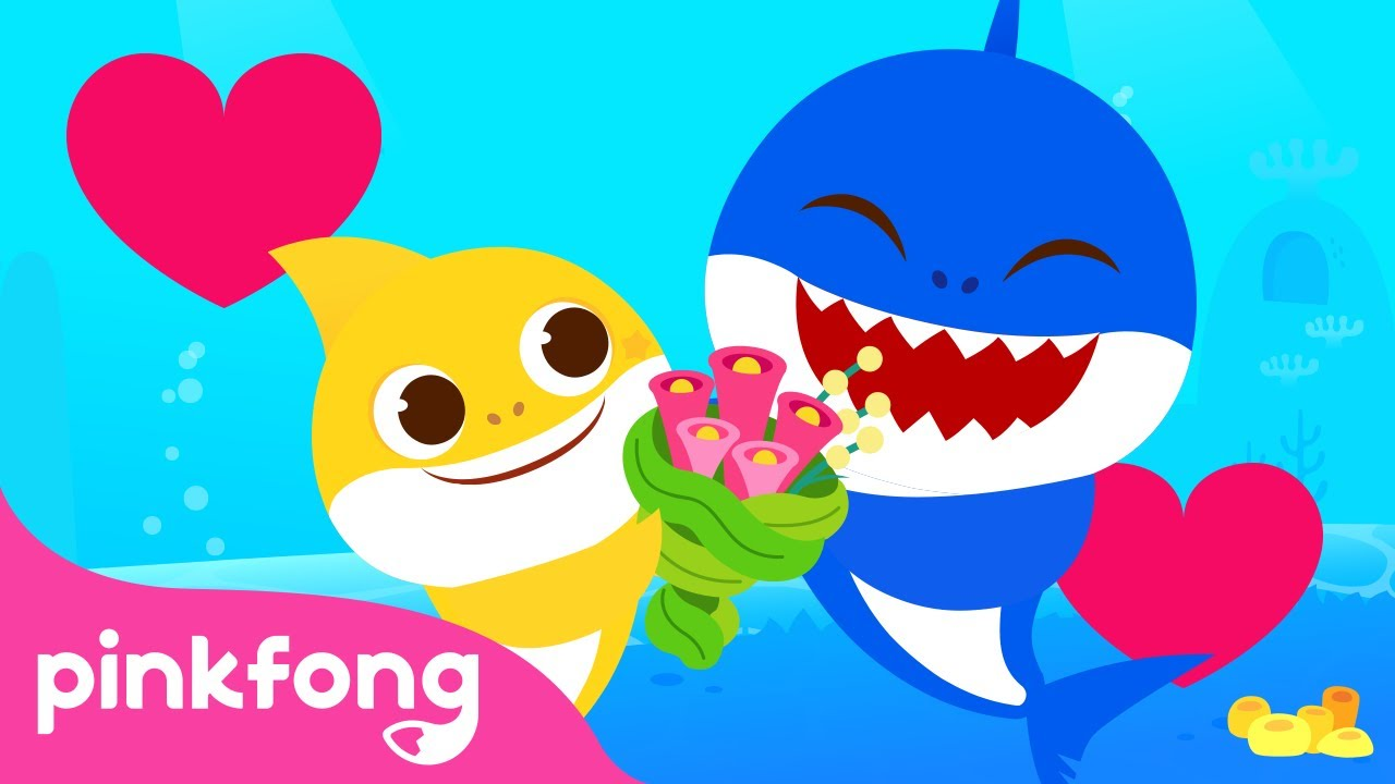 ¡Mi papi es un superhéroe! | Feliz Día del Padre con Tiburón Bebé | Pinkfong Canciones Infantiles